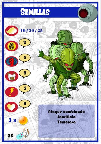 Dragon Ball Melee, juego de miniaturas Semillas-chico