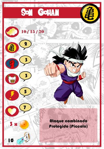 Dragon Ball Melee, juego de miniaturas SonGohan-chico