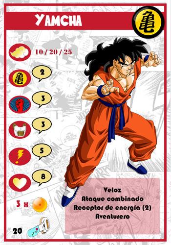 Dragon Ball Melee, juego de miniaturas Yamcha-chico