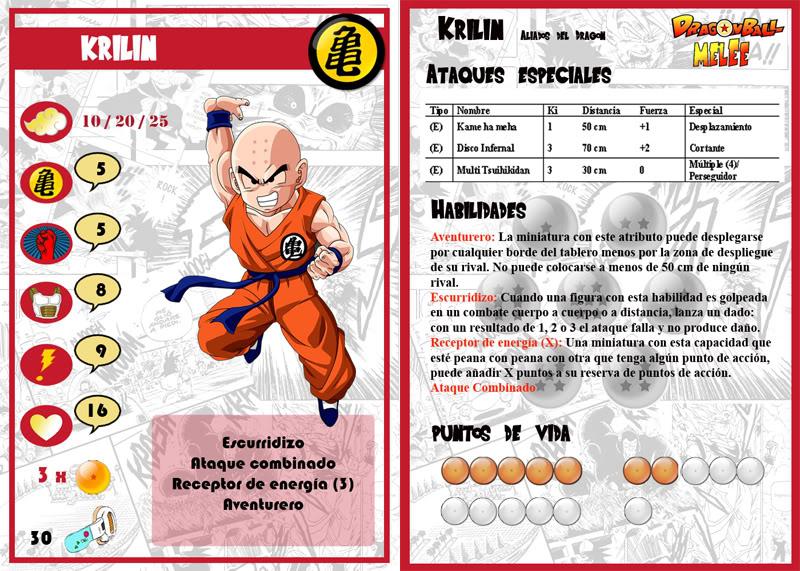 Dragon Ball Melee, juego de escaramuzas Prueba