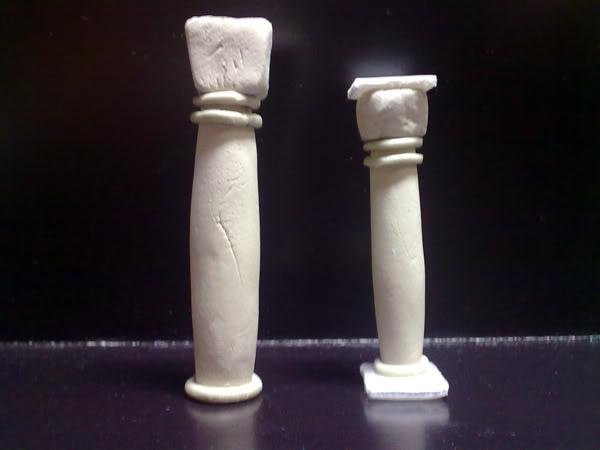 Arquitectura de Gondor Columnas