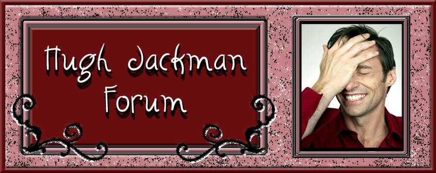 Hugh Jackman Forum