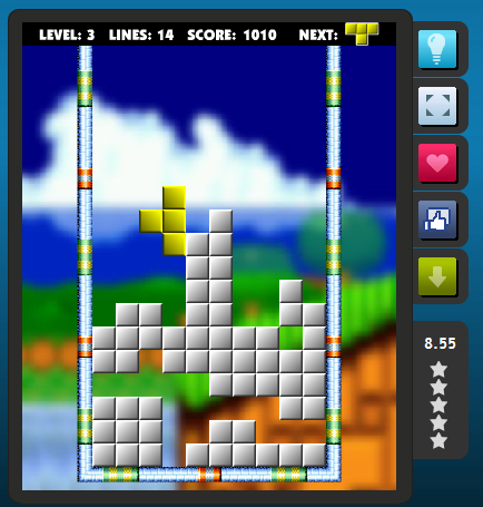 San Valentín Tetris