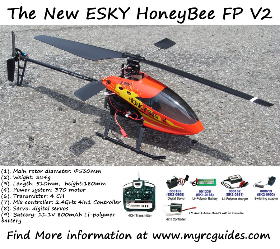 ESky HoneyBee V2 Thread HBFPV2Picture
