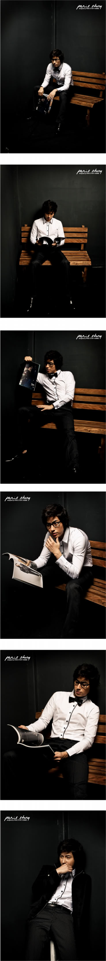 Lee Jee Hoon - Paris Story Hommes Collection I PH85-S-1