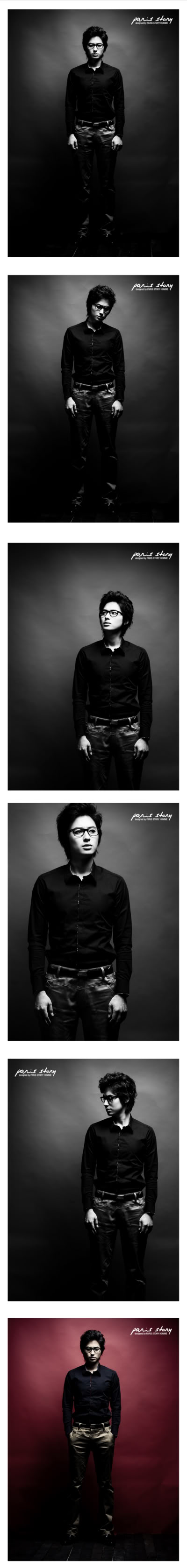 Lee Jee Hoon - Paris Story Hommes Collection I PH85-S-9