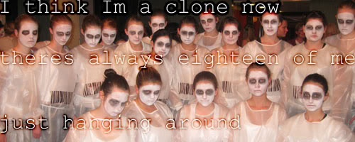 Caitlins art n stuff.... Clone