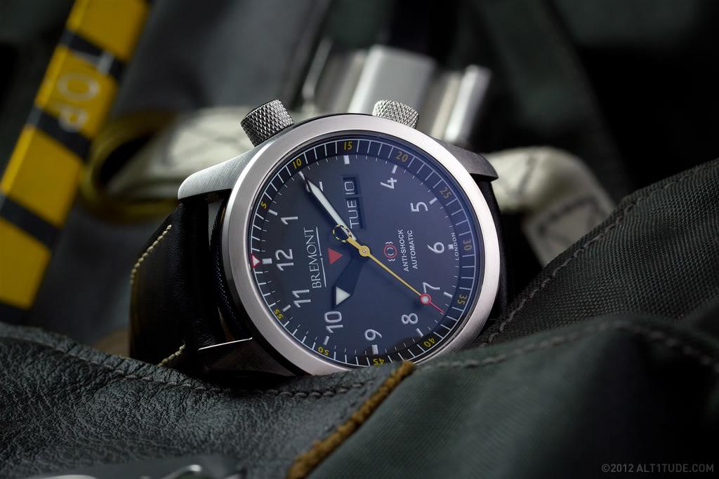 Une édition limitée pour la Bremont MBII Bremont-watch-gallery-mbii-blue-le-001