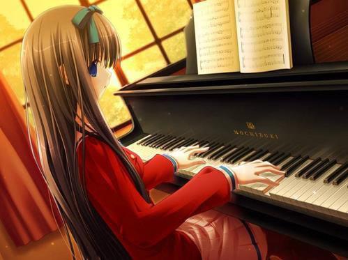 صور بنات انمى تعوف ع البيانوو رووووعه AnimeGirlPianoChanged