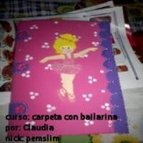 Galería del curso Carpeta decorada con bailarina Th_carpetaconbailarina