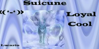Lucario the Banner Maker!! Suicuneblur