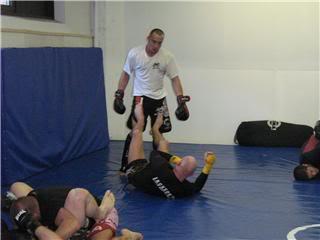 UFC 79: Georges St. Pierre training for Matt Hughes (Pics) 0121