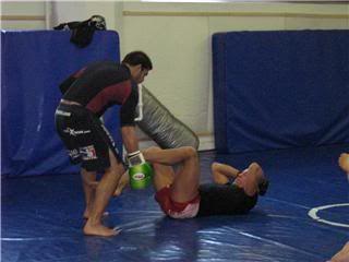 UFC 79: Georges St. Pierre training for Matt Hughes (Pics) 0127