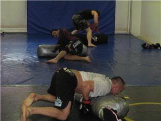 UFC 79: Georges St. Pierre training for Matt Hughes (Pics) 0137