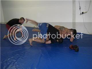 UFC 79: Georges St. Pierre training for Matt Hughes (Pics) 0154