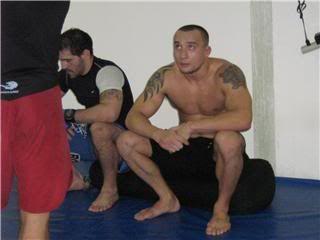 UFC 79: Georges St. Pierre training for Matt Hughes (Pics) 0155