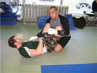 UFC 79: Georges St. Pierre training for Matt Hughes (Pics) 0165