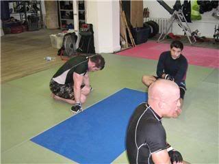 UFC 79: Georges St. Pierre training for Matt Hughes (Pics) 0182