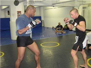 UFC 79: Georges St. Pierre training for Matt Hughes (Pics) 0196
