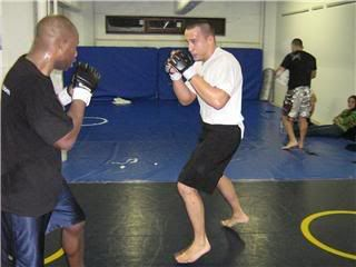 UFC 79: Georges St. Pierre training for Matt Hughes (Pics) 0199