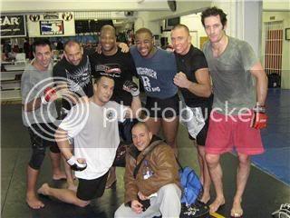 UFC 79: Georges St. Pierre training for Matt Hughes (Pics) 0219