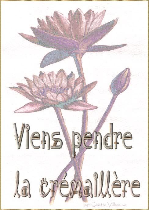 Cartes d'invitation Cremaillere-par-ginette-villeneuve-