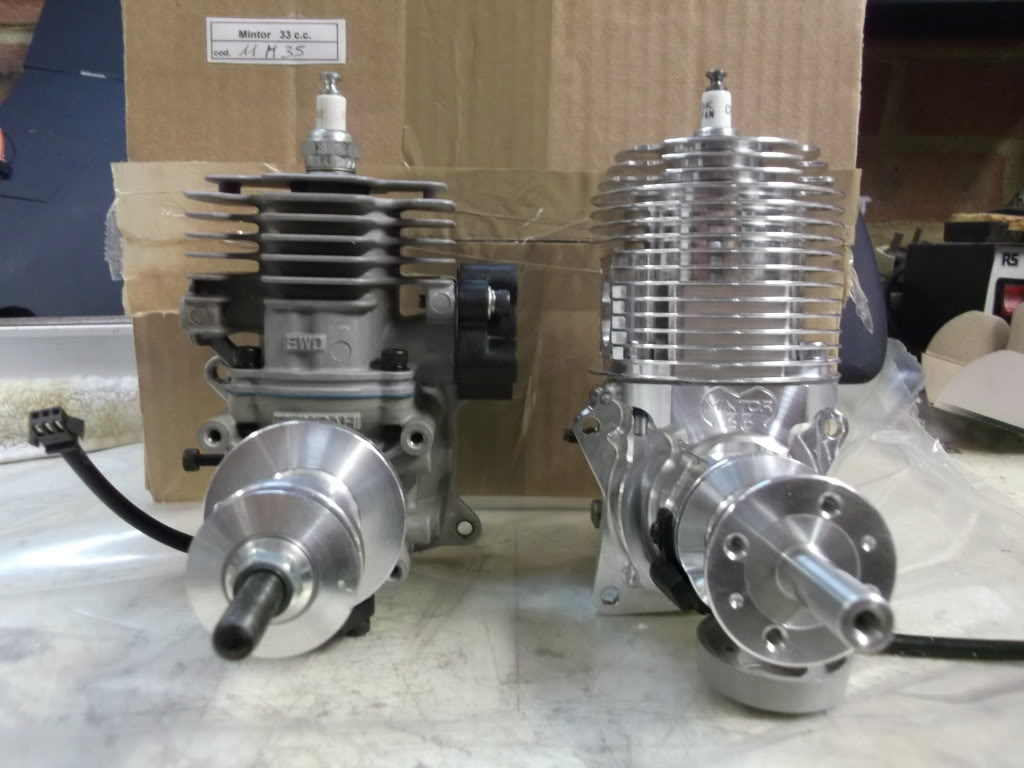 Mintor 33cc Petrol engine CoOpFireAlarms718