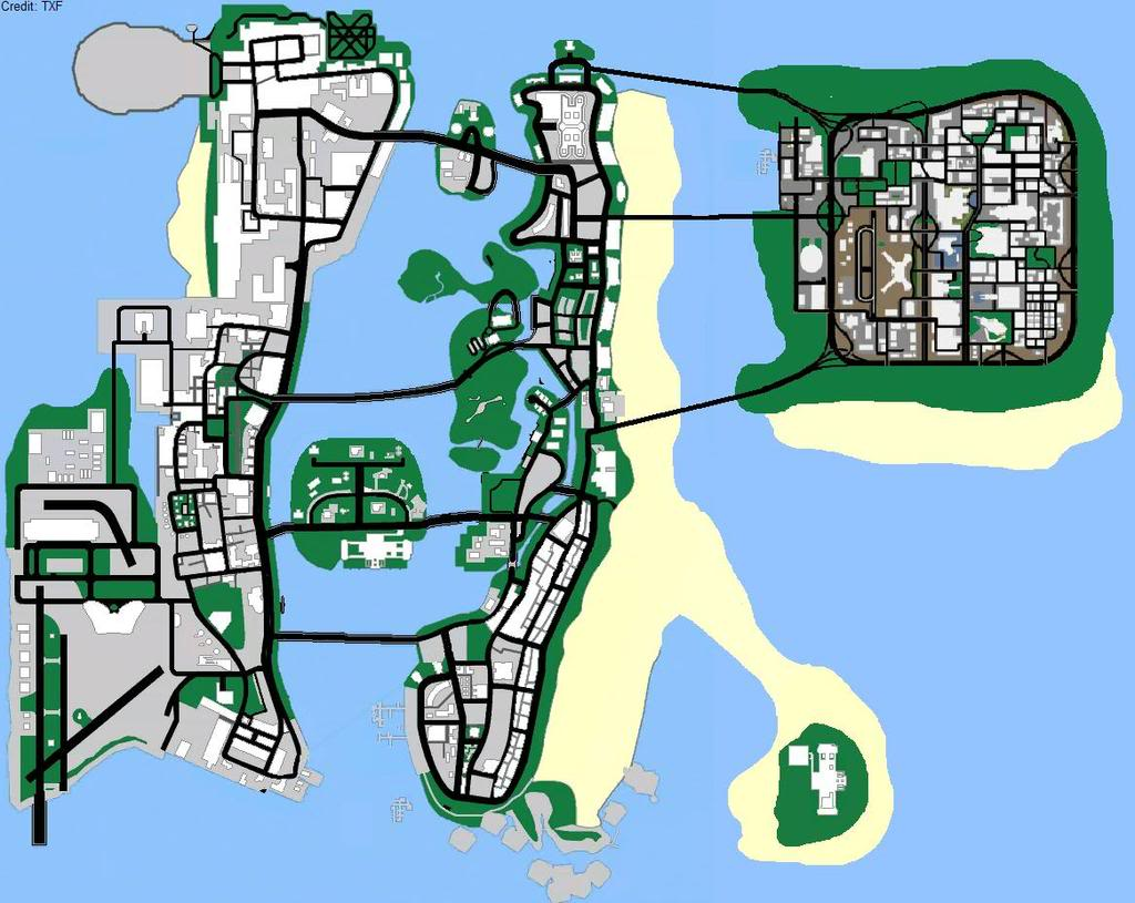 Vice City Map Properties [Denied] Map Suggestio...