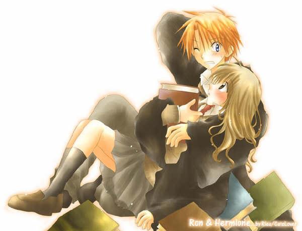 Harry Potter Anime xD AnimeHarrypotter
