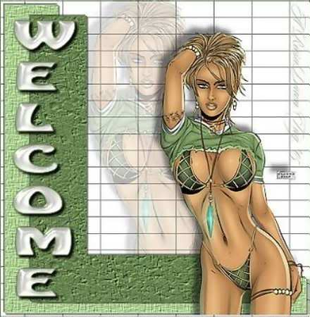 Présentation Po1s0n' Welcome_sexy_green_lingerie