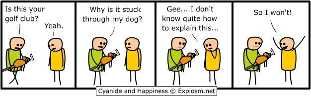 The funny stuff thread Explanation