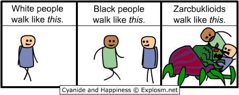 The funny stuff thread Racism