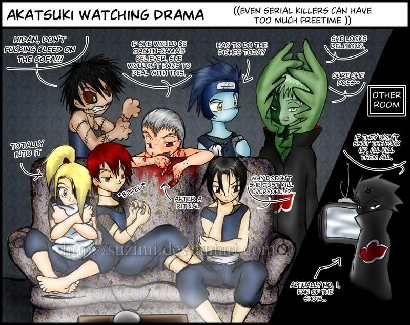 Funny Pic thread - Page 2 Akatsukiwatchingdrama