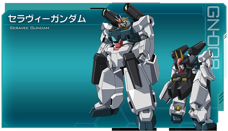 Mobile Suit Gundam 00 00-S2_Seravee