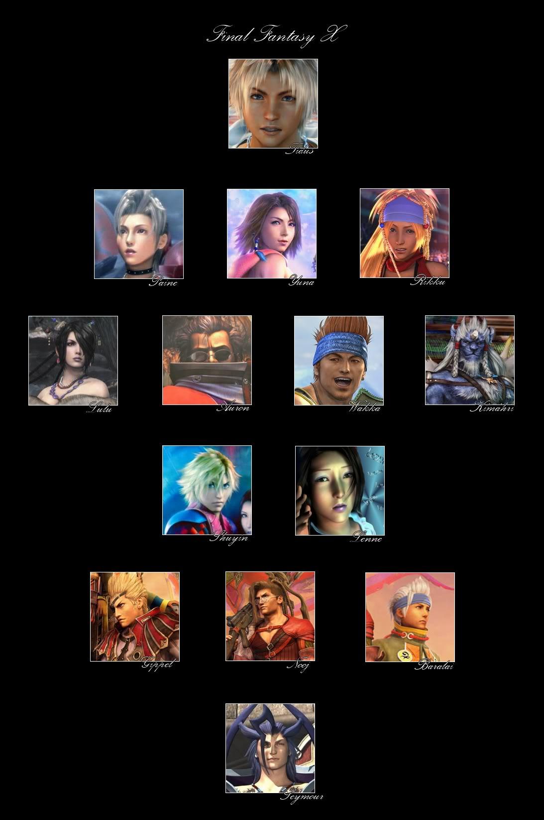 Final Fantasy X Ff10