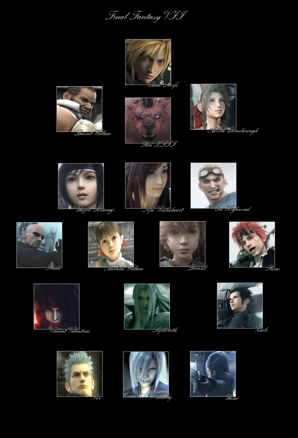 Final Fantasy VII Ff7