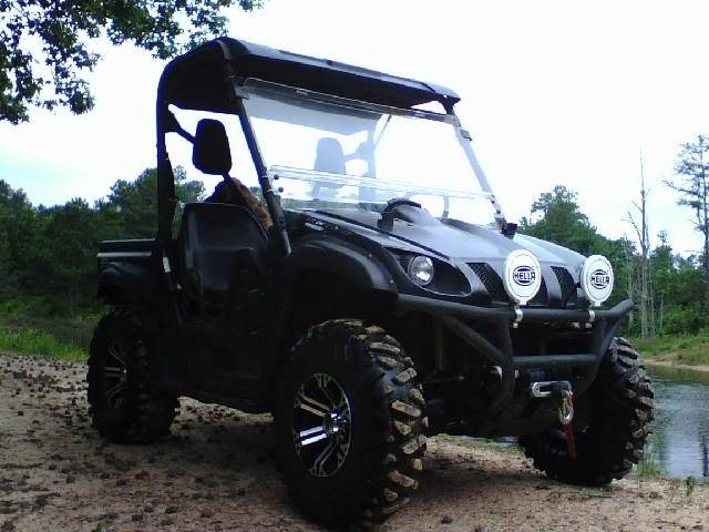 2008 Yamaha Rhino 700 FI Special Edition DirtyTread