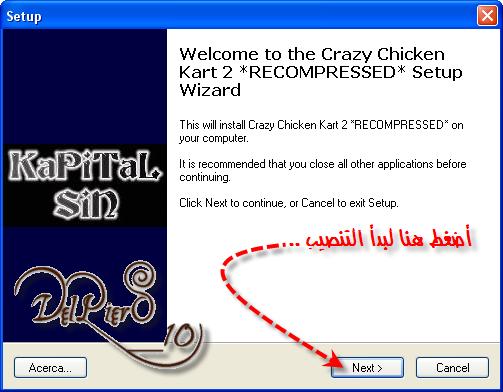 ألان وحصريا .. تم ألانتهاء من رفع لعبة ألسباقات ألممتعه .. Crazy Chicken Kart 2 .. 1-78