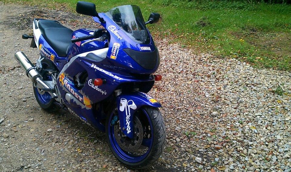 For Sale Yamaha Thundercat Yzf 600 R Cadburys Boost 380102_10151234724114414_881300903_n