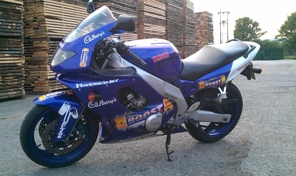 For Sale Yamaha Thundercat Yzf 600 R Cadburys Boost IMAG0281