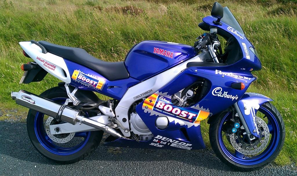 For Sale Yamaha Thundercat Yzf 600 R Cadburys Boost IMAG0501