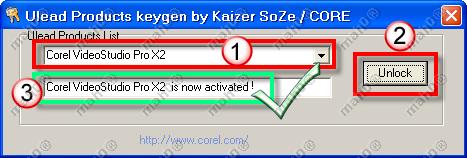 corel videostudio pro x2 activation code free download