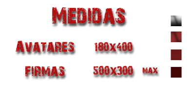 Welcome to the past Medidas