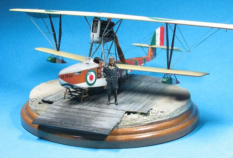Macchi M5 1/48 diorama. Photo0071