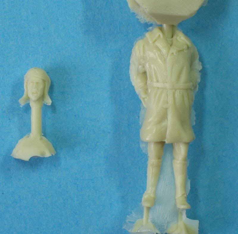 Petit diorama et figurine, Macchi M5 1/48 Photo01121800