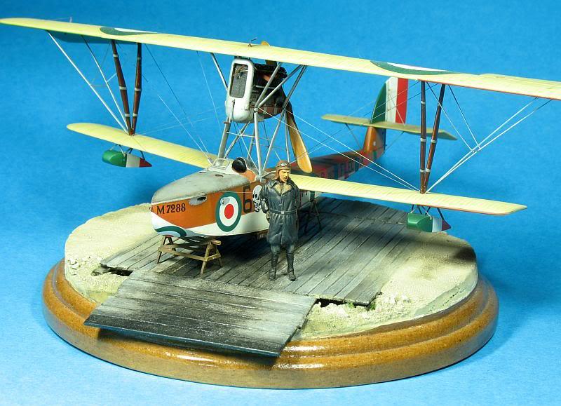 Macchi M5 1/48 diorama. Photo035