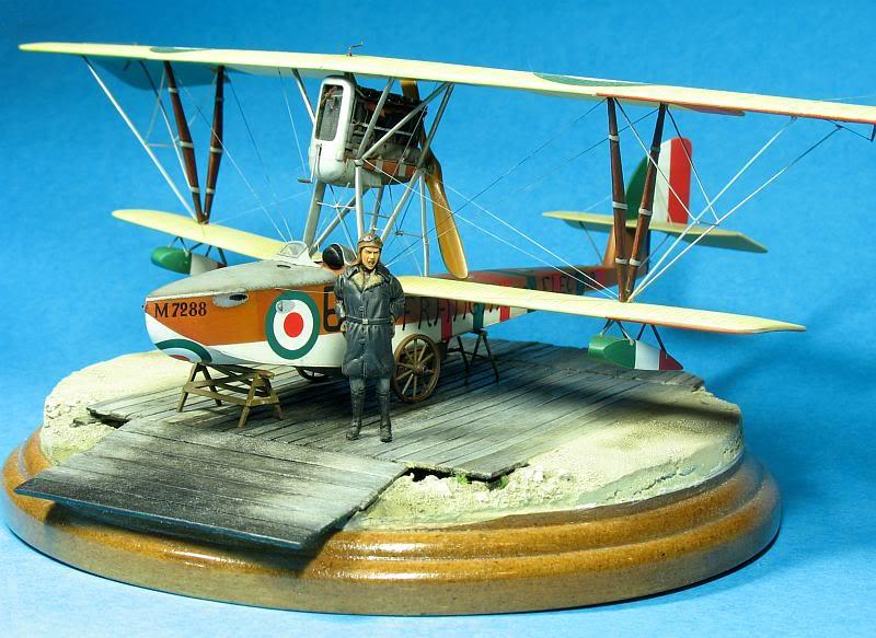 Macchi M5 1/48 diorama. Photo039-1