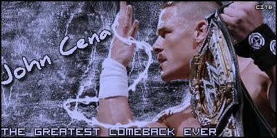 صور جون سينا المصارع المحبوب Comebackgsx