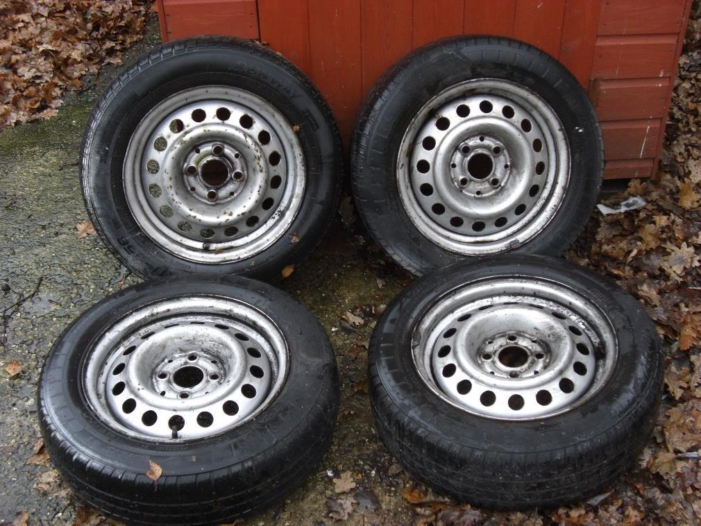 14 x 5.5 et 35 4 x100 steel wheels CIMG0164