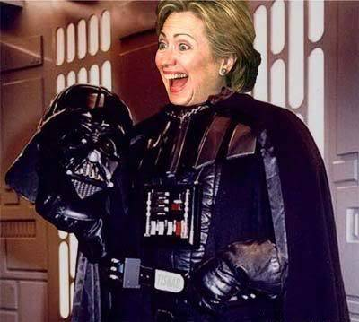 Caption the pic Hillary_vader